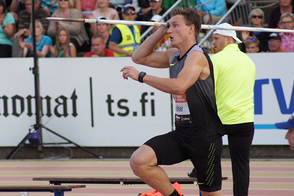 Thomas Rohler in action in Turku (Mirko Jalava)