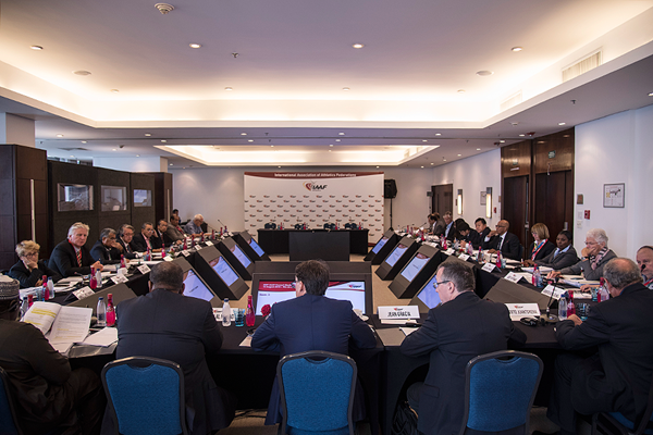 The 205th IAAF Council Meeting in Rio (Getty Images)