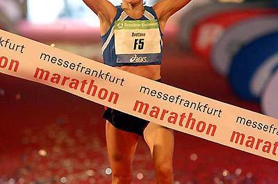 Svetlana Ponomarenko wins in Frankfurt (Victah Sailer)