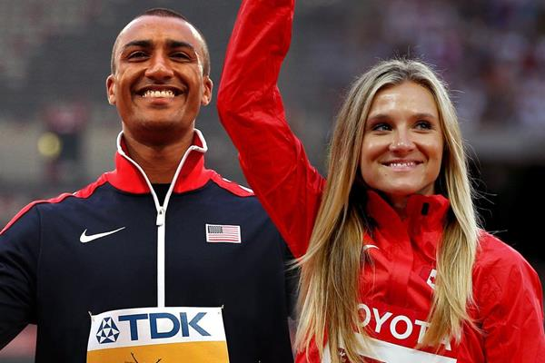 Ashton Eaton and Brianne Theisen-Eaton (Getty Images)