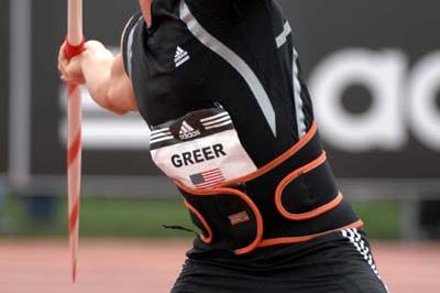 Breaux Greer sets a new American record in Carson (Kirby Lee)