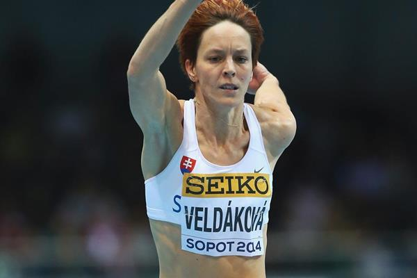 Slovak triple jumper Dana Veldakova (Getty Images)