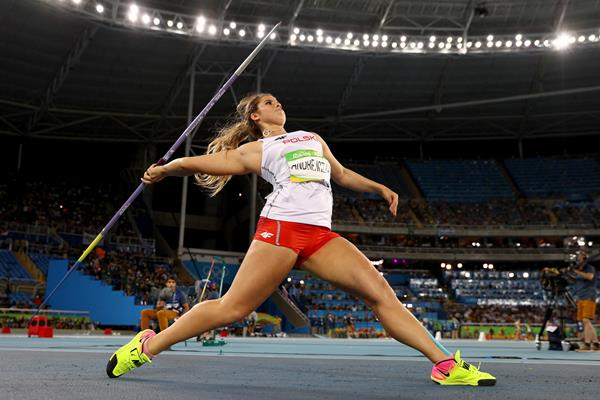 Polish javelin thrower Maria Andrejczyk at the 2016 Olympic Games (Getty Images)