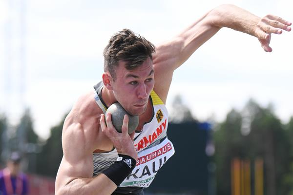 Niklas Kaul at the European U23 Championships in Gavle (Getty Images)