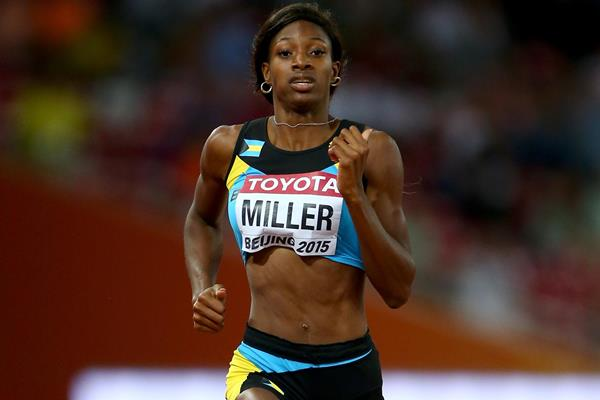 Shaunae Miller in the 400m at the IAAF World Championships, Beijing 2015 (Getty Images)
