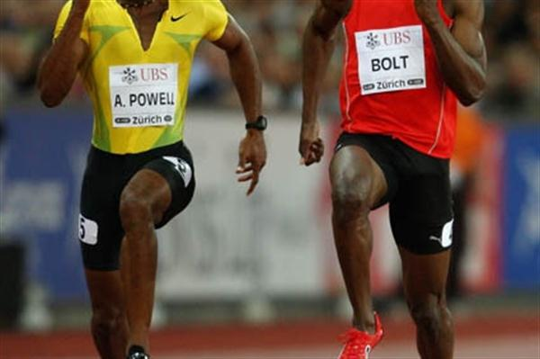 Triple World and Olympic Champion Usain Bolt runs 9.81 in Zurich (Getty Images)