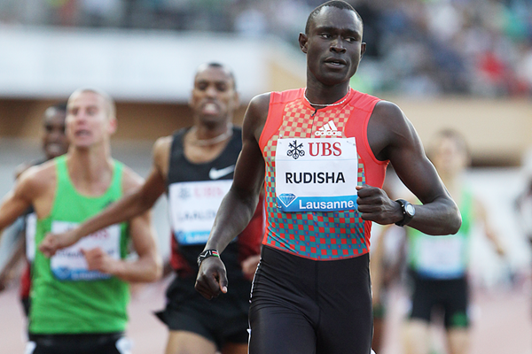 David Rudisha wins for the third time in Lausanne (Giancarlo Colombo)