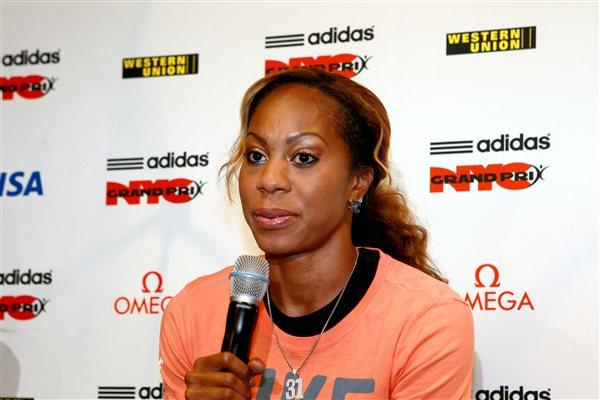 Sanya Richards-Ross in New York (Victah Sailer)