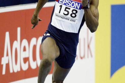 Marlon Devonish (GBR) - 200m heats (Getty Images)
