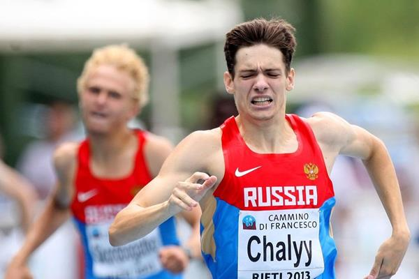 Timofey Chalyy at the 2013 European Athletics Junior Championships (Getty Images)