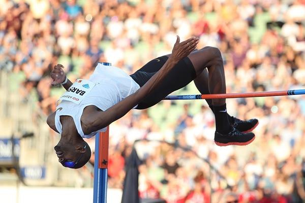 Mutaz Barshim wins again in Oslo (Giancarlo Colombo)