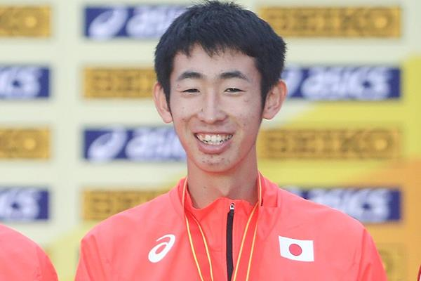 Japanese race walker Hiroto Jusho (Getty Images)