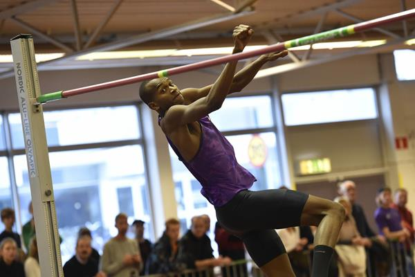 Mutaz Essa Barshim at the 2016 Pallasspelen meeting in Malmo (DECA Text&Bild)