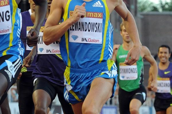 Marcin Lewandowski en route to his victory in Stockholm (Deca Text&Bild)