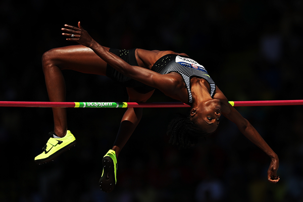 Chaunte Lowe wins the high jump at the US Olympic Trials (Getty Images)