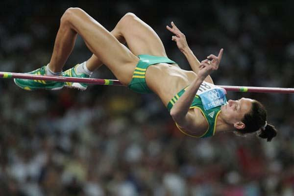 Hestrie Cloete in the High Jump (Getty Images)