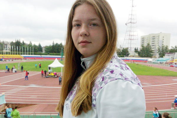 Russian hammer thrower Sofiya Palkina ()