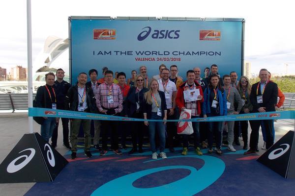 Valencia 2018 Observer Programme participants (IAAF)