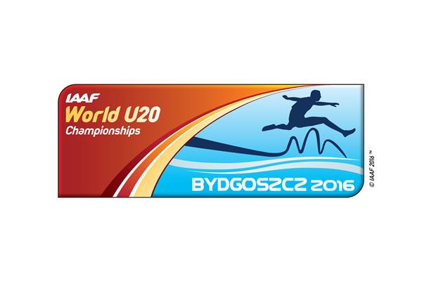 IAAF World U20 Championships Bydgoszcz 2016 logo (IAAF)
