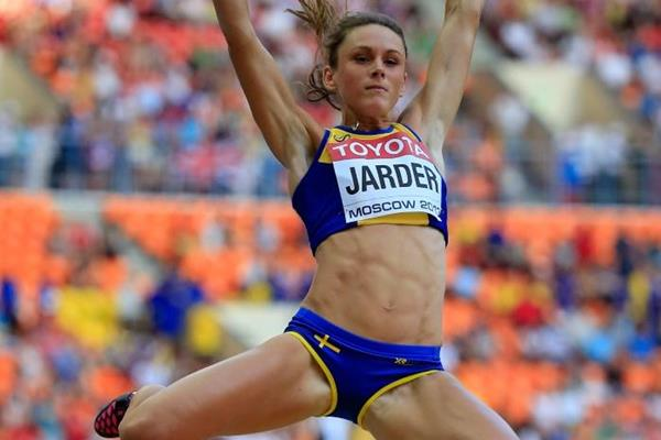 Swedish long jumper Erica Jarder (Getty Images)