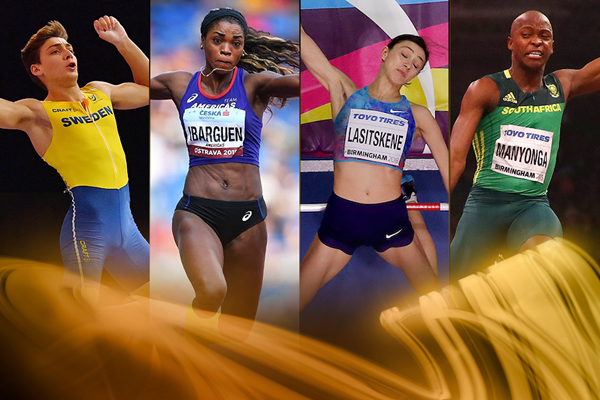 2018 World Athlete of the Year nominees - jumps (Getty Images)