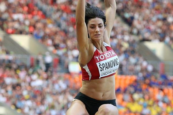 Ivana Spanovic at the 2013 IAAF World Championships (Getty Images)