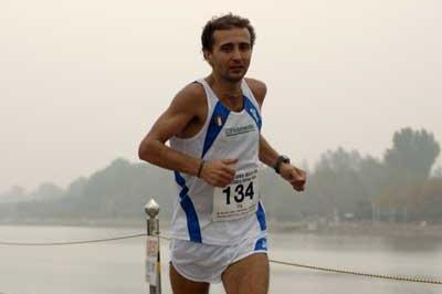 Giorgio Calcaterra in action in IAO 100km World Cup (Sean Wallace-Jones)