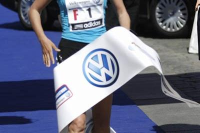 Natalya Yulamanova defending her title in Prague (Sean Wallace Jones)