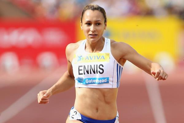 A rare Diamond League appearance for Jessica Ennis (Getty Images)