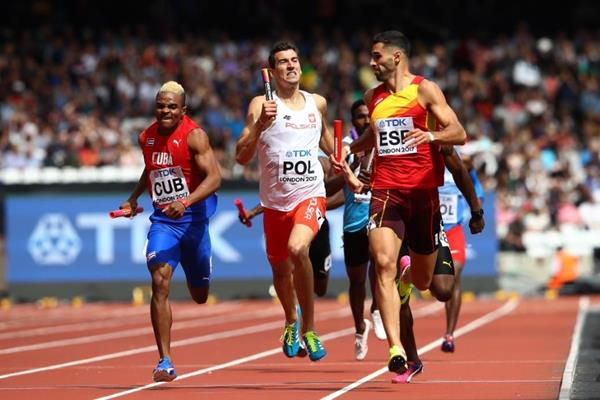 Men's 4x400m heats at the IAAF World Championships London 2017 (Getty Images)