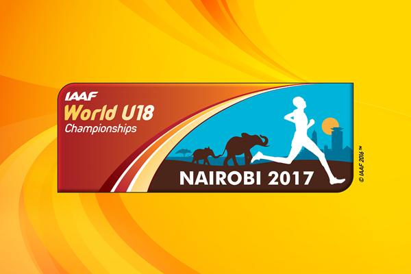 IAAF World U18 Championships Nairobi 2017 logo (IAAF)