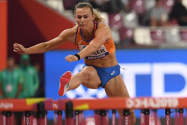 Nadine Visser at the IAAF World Athletics Championships Doha 2019 (AFP / Getty Images)