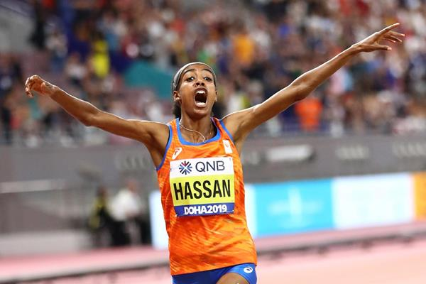 World title No2 for Sifan Hassan in Doha - IAAF World Athletics Championships Doha 2019 (Getty Images)