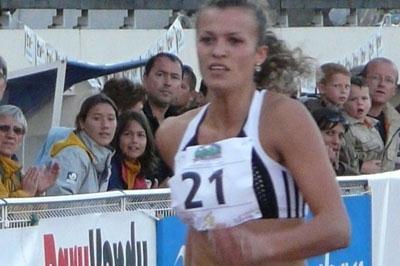 Nataliya Dobrynska in Talence in 2008 (Hans van Kuijen)