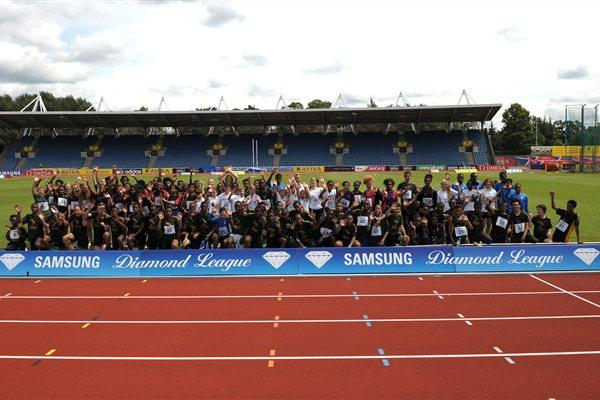 IAAF Centenary Kids' Relay in London's Crystal Palace (Mark Shearman)