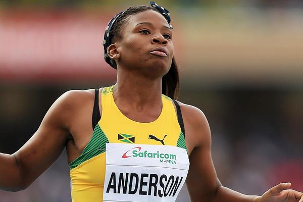 Jamaican sprint hurdler Britany Anderson (Getty Images)