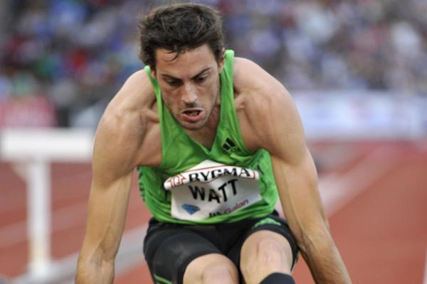 Mitchell Watt of Australia sets a world season lead in the DN Galan (Hasse Sjogren / DECA Text&Bild)