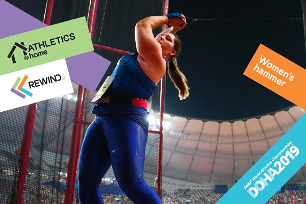 Watch World Athletics: women's hammer (Getty Images)