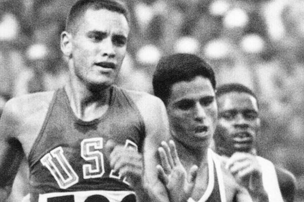 Billy Mills at the 1964 Olympics (AFP / Getty Images)