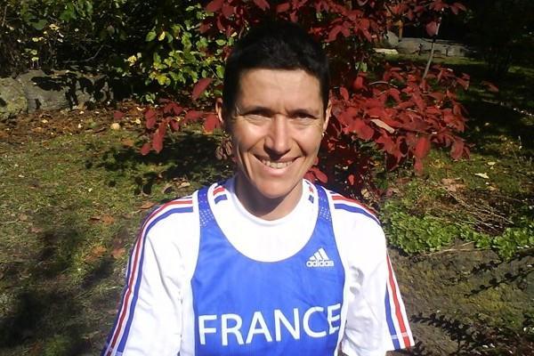 2008 IAU 24 Hour World Challenge champion Anne-Marie Vernet of France (Nadeem Khan)