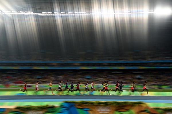 The men's 5000m final at the Rio 2016 Olympic Games (Getty Images)