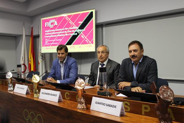 Launch of the International Athletics Film Festival (FICA) in Madrid (IAAF)