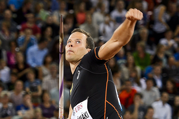Finnish javelin thrower Tero Pitkamaki (AFP / Getty Images)