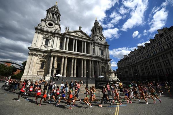 The women's marathon at the IAAF World Championships London 2017 (Getty Images)