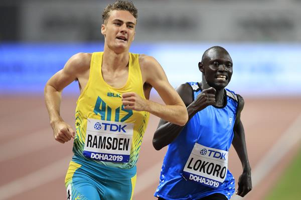 Australian middle-distance runner Matthew Ramsden (Getty Images)
