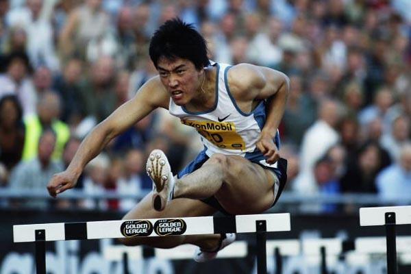 Xiang Liu of China in action in Oslo Golden League meeting (Getty Images)