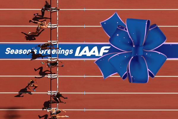Season's Greetings from the IAAF (IAAF)