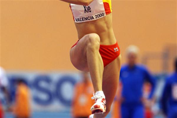 China's Limei Xie qualified for the triple jump final with 14.25m (Getty Images)