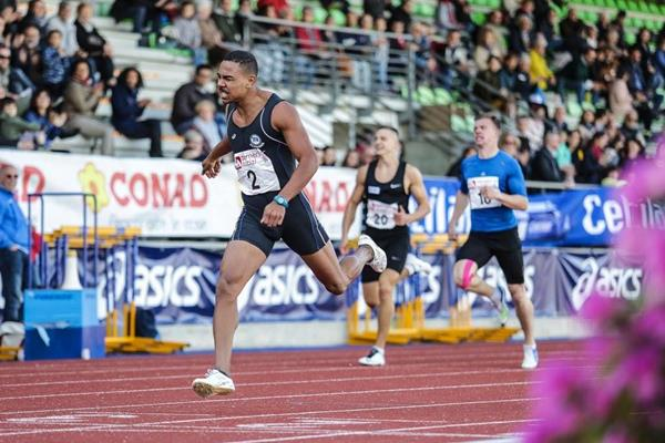 Jefferson Santos in the Multistars 100m (organisers)