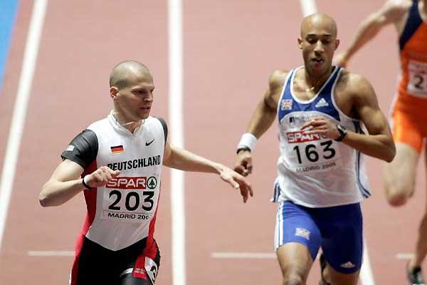 Tobias Unger of Germany wins the 200m - Madrid (Getty Images)